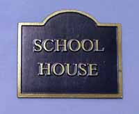 House Name Plaques - Shape 1