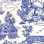 10.Campagne Toile Blue Silk