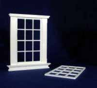 1/24th Scale Georgian 12 Pane Window.