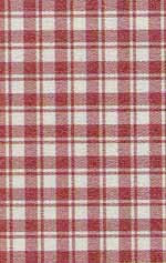 13.French Check Red Silk