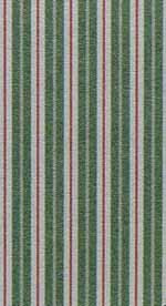 11. Toile Stripe Green Cotton