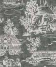 16. Reverse Toile Grey Cotton