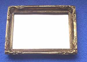 Picture Frame with Mirror