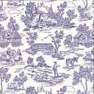 Campagne Toile - Blue