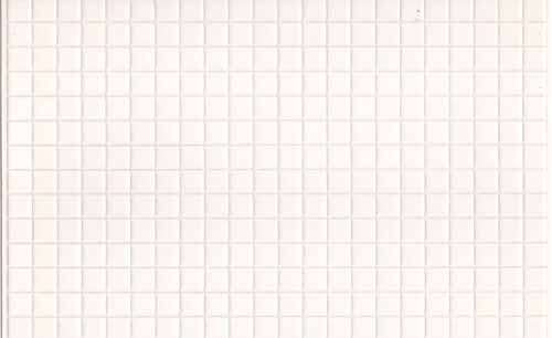 09 1/24th Scale White Wall Tile
