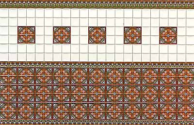 04 1/24th Scale Wall Tile