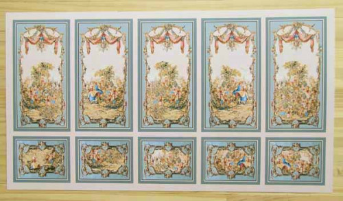 1/24th Scale Wall Panels 24793