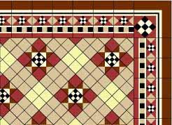 1/24th Victorian Tile Wallpaper