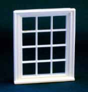 1/24th Scale Victorian 12 Pane Window.