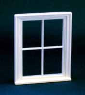 1/24th Scale Victorian 4 Pane Window.