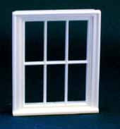 1/24th Scale Victorian 6 Pane Window.