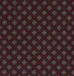 24.St George Burgundy Cotton