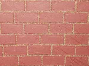 Dollshouse Red Brick Cladding C 05