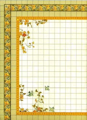 Nasturtium Floor Tiles