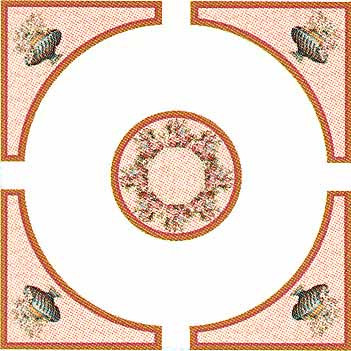 34807CP Romance Ceiling Panel