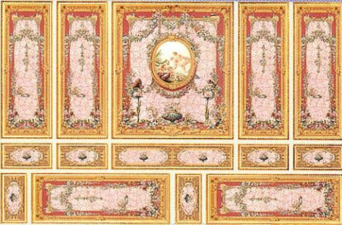 34807 Romance Wall Panels