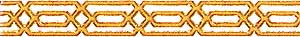34906 Gold Frieze