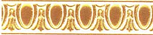 34912 Gold Frieze