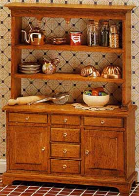 Kitchen Cupboard Top