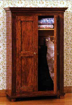 Wardrobe and Linen Press