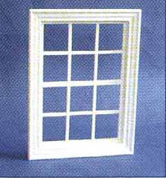 Georgian Window 12 Pane White