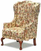 Chippenndale Wing Chair