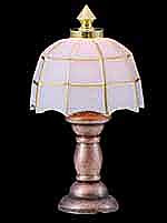 1/24th Scale Tiffany Lamp
