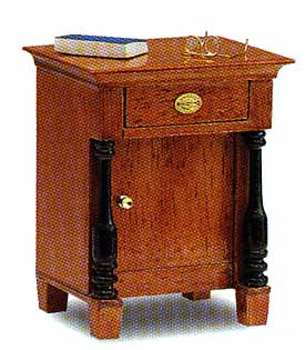 Biedermeier Bedside Table