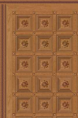 Boiserie Plafond Ceiling Paper