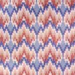 02. Bargello Blueberry Cotton