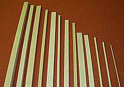 4066 1/4 x 1/4 Bass Strip