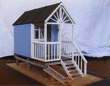 05 Beach Hut by Julie & Brian Hartle