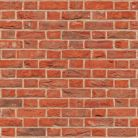 Embossed Red Brick Flemish Bond