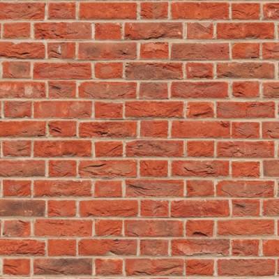 Embossed Red Brick Flemish Bond