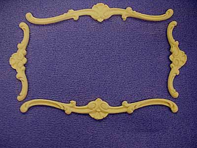 Ceiling Mouldings Set - Resin