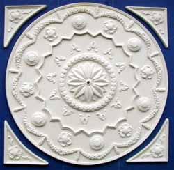 Circular Ceiling Panel - Plaster