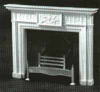 DH113 Adam Fireplace