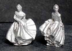 DH201 Pair of Royal Doulton Style Ladies