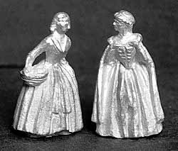 DH206 Pair of Royal Doulton Style Ladies in Summer
