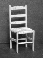 1/24th Chair - Ladder Back