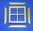 4 Pane Dormer Window