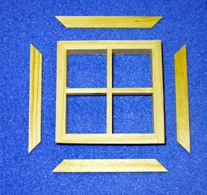 4 Pane Dormer Window