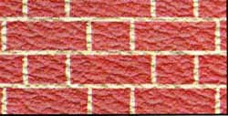 Embossed Red Brick
