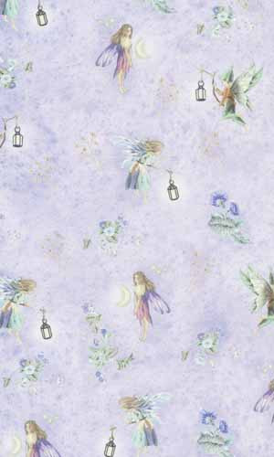 27 Fairies Nursery Wallpaper