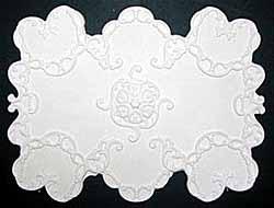 Ornate Circular Ceiling Panel - Plaster