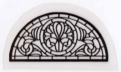 Fanlight - Leaded Window