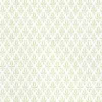 1/24th Damask - Cream Wallpaper