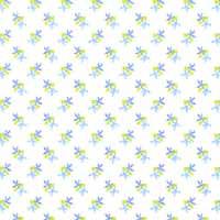 1/24th Petals - Blue Wallpaper