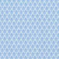 1/24th Brocade - Blue Wallpaper