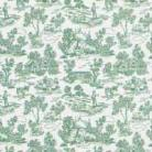 1/24th Campagne Toile - Green Wallpaper